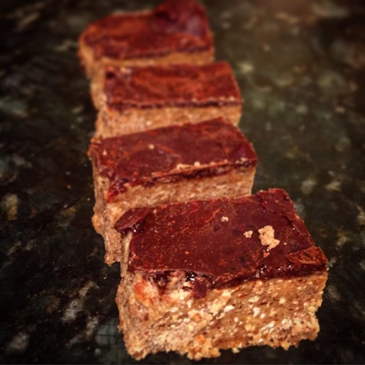 Vegan Almond Butter Freezer Fudge
